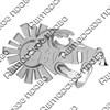 Магнитик зеркальный Солнышко с волной и сланцами с символикой Вашего города - фото 65077