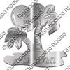 Магнит зеркальный Пальмы с символикой Вашего города - фото 65085