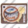 Магнит Проигрыватель с зеркальной фурнитурой и символикой Вашего города - фото 66426