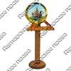 Магнит со смолой Лупа с символикой Вашего города - фото 69303