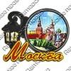 Магнит со смолой Фонарь вид 2 с символикой Вашего города - фото 69318