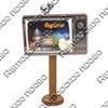 Магнит Телевизор с зеркальной фурнитурой и символикой Саранска - фото 69836