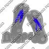 Магнит зеркальный Сланцы с символикой Сланцы - фото 70347