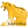 Магнит на холодильник Медведь с рыбой и символикой Камчатки - фото 72284