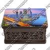 Шкатулка малая резная со смолой с видами, достопримечательностями или символикой Вашего города - фото 72714