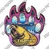 Магнит сувенирный со смолой Лапа медведя с видами, достопримечательностями или символикой Вашего города - фото 73272