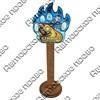 Магнит сувенирный со смолой Лапа медведя с видами, достопримечательностями или символикой Вашего города - фото 73288