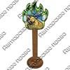 Магнит сувенирный со смолой Лапа медведя с видами, достопримечательностями или символикой Вашего города - фото 73296