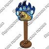 Магнит сувенирный со смолой Лапа медведя с видами, достопримечательностями или символикой Вашего города - фото 73298