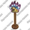 Магнит сувенирный со смолой Лапа медведя с видами, достопримечательностями или символикой Вашего города - фото 73300